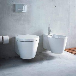 "wc back to wall ""Starck1 "" by Duravit white"