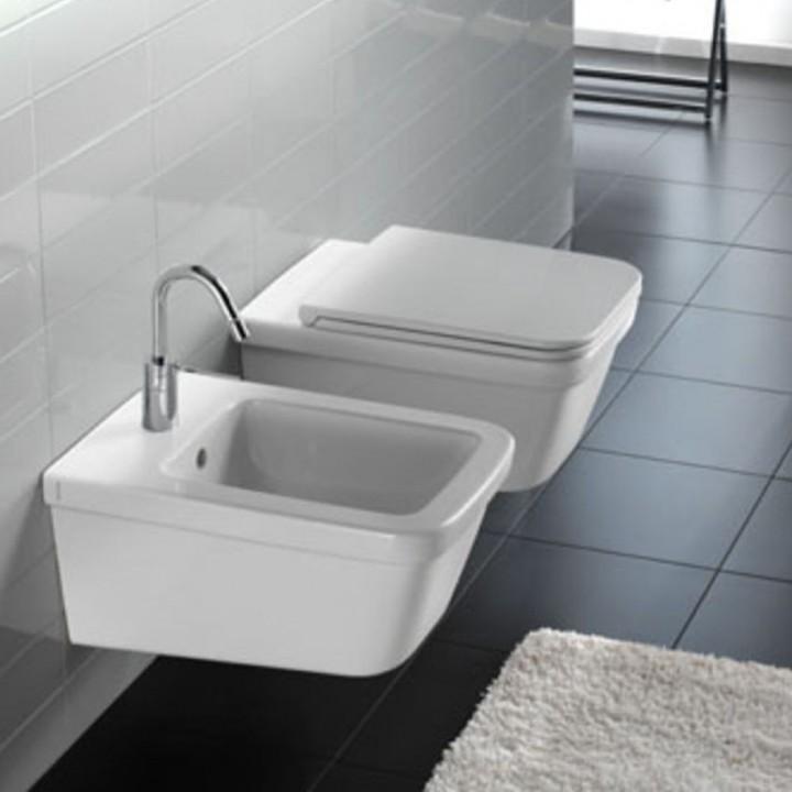 Toilet seat Erika pro q white