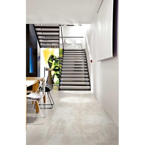 Rawtech 80x80 Floor Gres piastrella in gres naturale squadrato effetto cemento vissuto