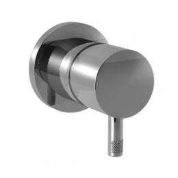 Shower mixer Diametrotrentacinque by Ritmonio chrome