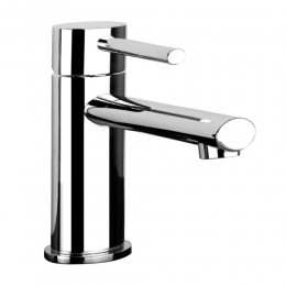 Basin mixer pop-up waste Ovale by Gessi chrome