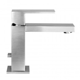 Single-lever basin mixer Rettangolo series by Gessi