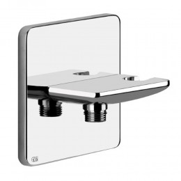 Handshower hook and water outlet iSpa by Gessi chrome