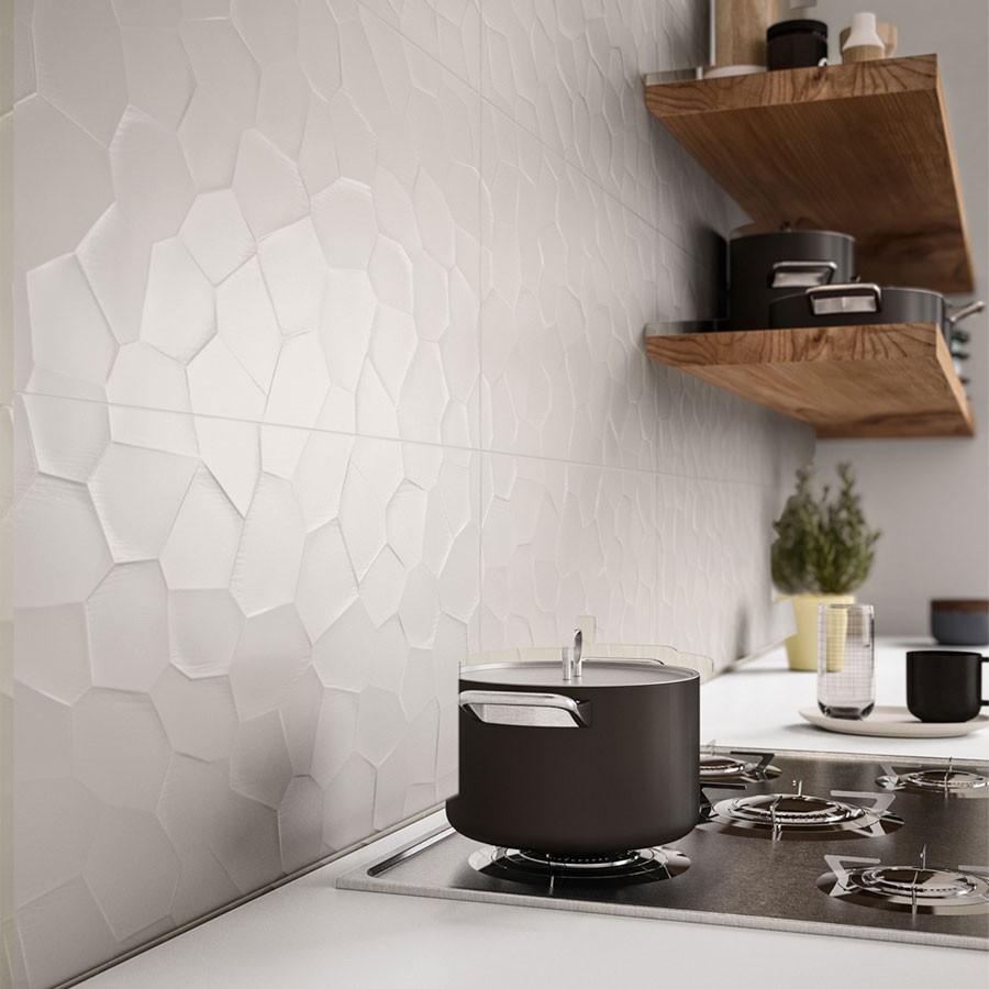 Color Code 30x60 Deco 3D Marazzi piastrella in gres per rivestimento stile  minimale