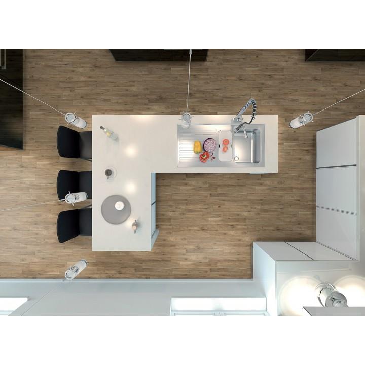 Treverkway 15x90 by Marazzi stoneware porcelain tile wood effect
