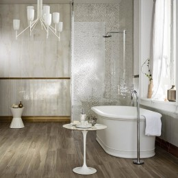 Mosaico su Rete Rivestimento Evolutionmarble di Marazzi 32.5x32.5 per il bagno