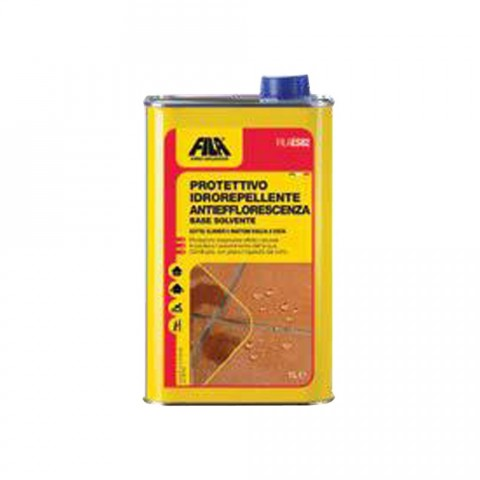 es/82 repellent and transparent product for terracotta, bricks ,klinker-anti-efflorescence lt.1