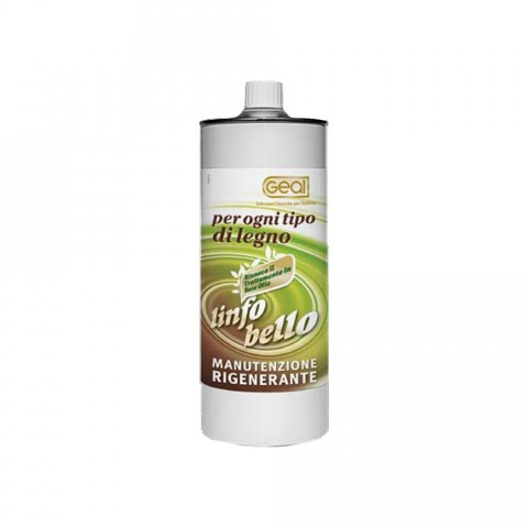 Linfobello di geal-cera protettiva per ogni tipo di legnoa base di resine e oli agli estratti di agrumi lt.1