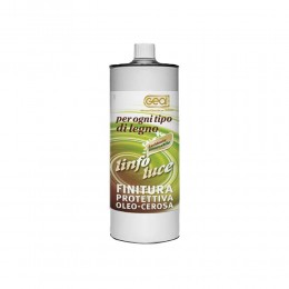 Linfoluce Geal- protective whit oils and waxs for wooden floors lt.1