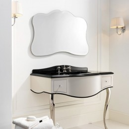 Vanity unit for washbasin Audrey by Devon&Devon (111,2x57,5 cm) chrome