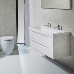 Bathroom forniture Mikado 06 by Arca ( 120x45 cm) matt white