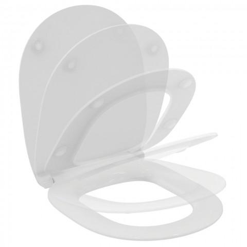Sedile slim per vaso Connect Ideal Standard WC con chiusura rallentata