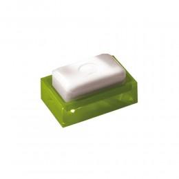 Porta sapone modello Rainbow di Gedy in resina colorata