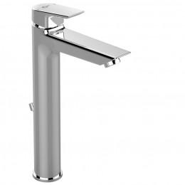 Miscelatore monocomando per lavabo da appoggio su piano serie Ceramix di Ideal Standard