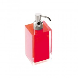 "Soap dispenser ""Rainbow"" colored resin by Gedy"