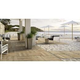 TreverkHome 30x120 cm by Marazzi rectified wood effect tile