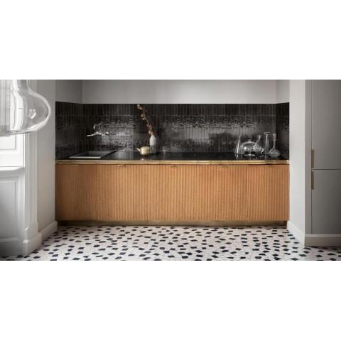 Wall tile in white paste Concreta Marazzi col. clay (32.5x97.7 cm) perfect for bathroom